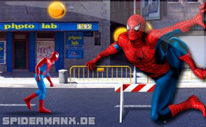 Spiderman Netz